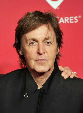 Former Beatle Sir Paul McCartney has been a vegetarian for over 25 years. He co-authored The Meat Free Monday Cookbook, with his daughters Mary and Stella. Photo: Kevin Winter, Getty Images For The Recording A / 2012 Getty Images