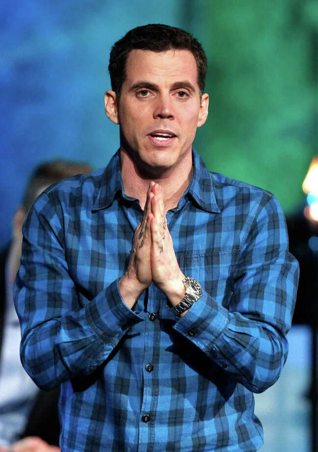 Jackass star Steve-O stopped eating meat after kicking drugs. He then gave up eggs, fish and dairy. Photo: Christopher Polk, Getty Images / 2011 Getty Images