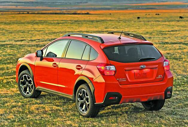 Subaru adds all-new XV Crosstrek to lineup - SFGate