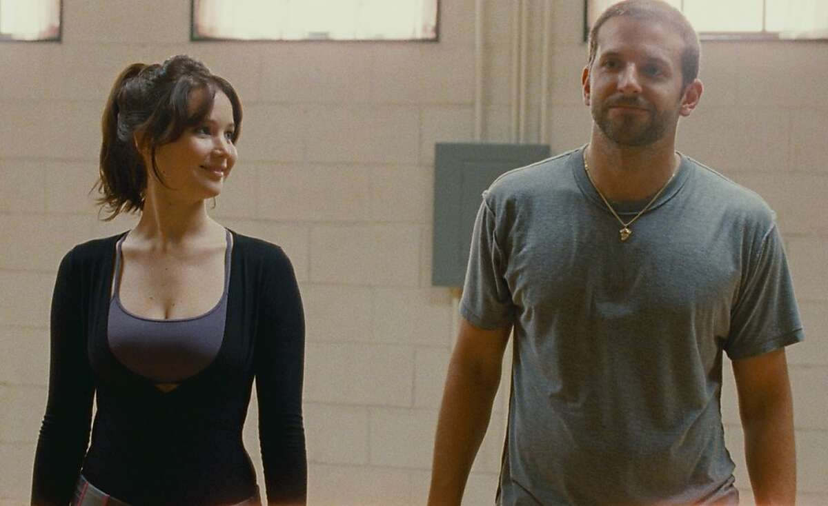 Jennifer Lawrence and Bradley Cooper in David O. Russell's