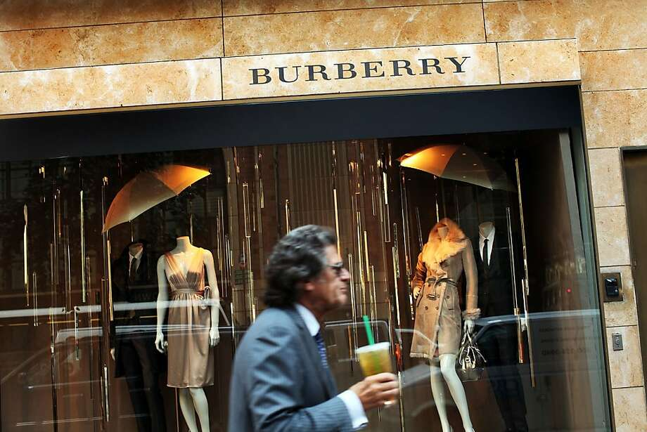 Burberry's attempts to move upmarket with moreexpensive products isn't exciting the big spenders. Photo: Spencer Platt, Getty Images