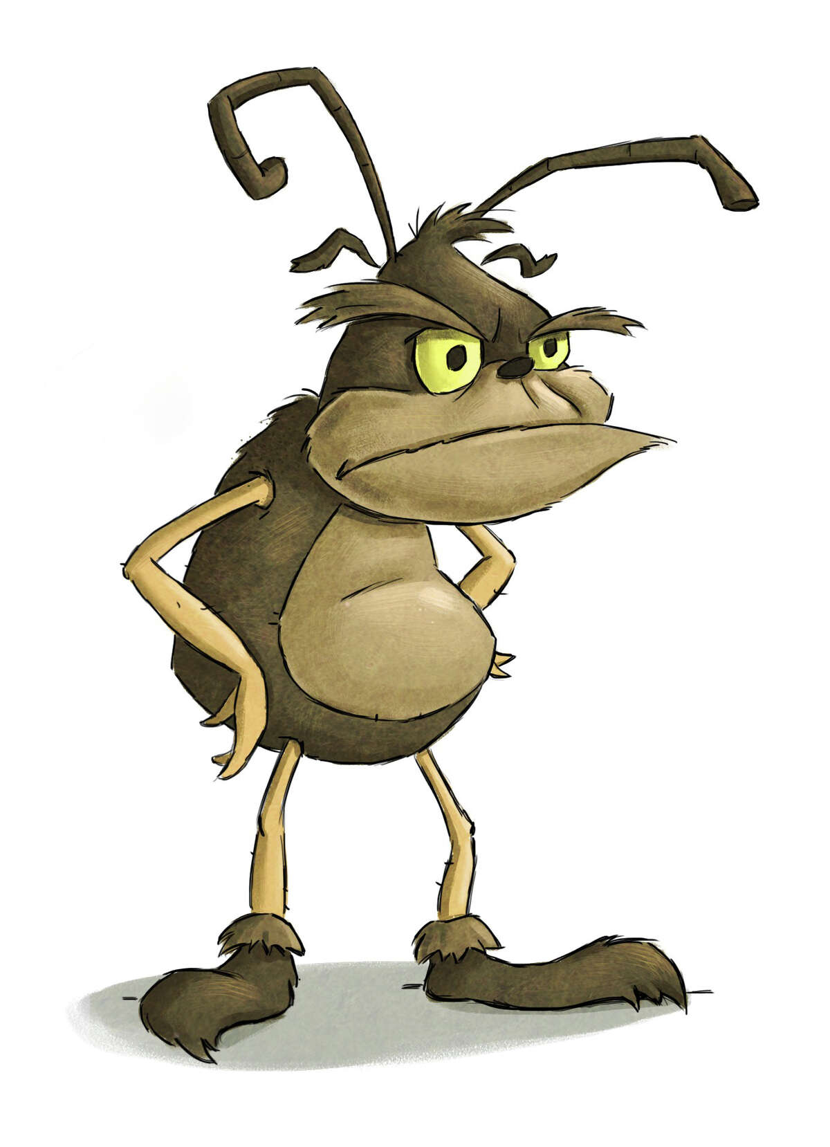 Newtown author Scott Ferguson teaches children what good manners are with some help from this misbehaving buglike character named ìIt.î