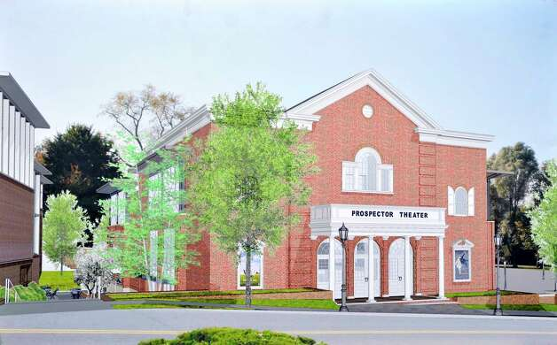 An artists rendering of the Prospect Theater in Ridgefield. Photo: Contributed Photo / The News-Times Contributed