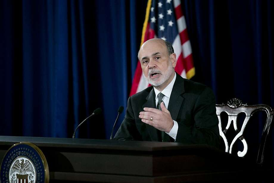 Federal Reserve Chairman Ben Bernanke says Thursday that the Fed will buy $40 billion worth of mortgage-backed securities per month. Photo: Andrew Harrer, Bloomberg