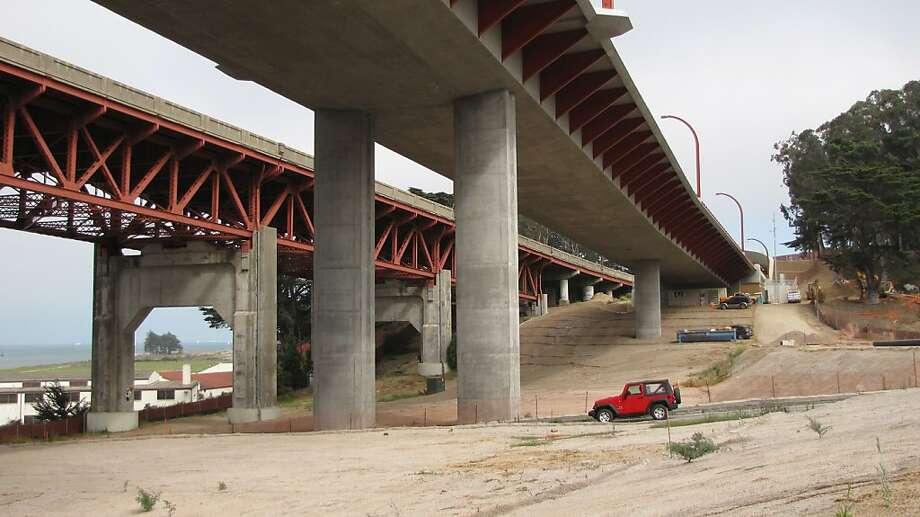 Doyle Drive viaducts Photo: John King, The San Francisco Chronicle