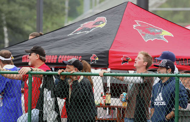 University of the Incarnate Word football fans watch the UIW and East Central Oklahoma game Saturday Oct. 10, 2009 at Benson Stadium. Incarnate Word won 38-20. Photo: EDWARD A. ORNELAS, Express-News / eaornelas@express-news.net