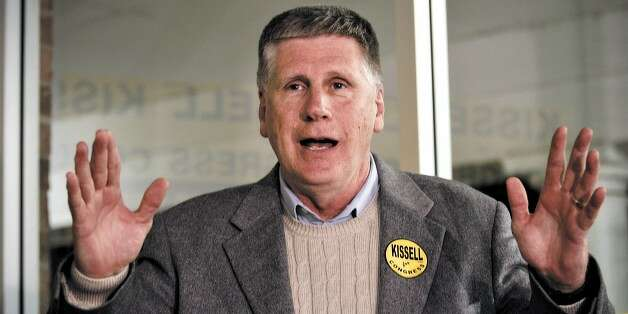 North Carolina Rep. Larry Kissell hung on to his seat in 2010 only to face re-election in a district made far more Republican by a GOP legislature. (Nell Redmond / AP)
