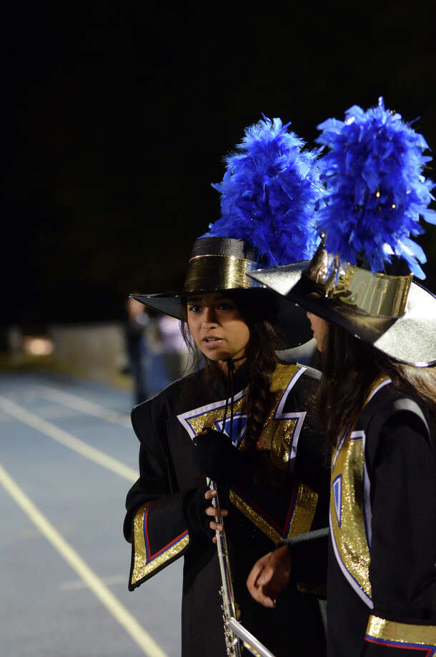 The Bunnell marching band prepares to take the field during the first football game of the season against Bethel at Bunnell High School in Stratford on Friday, Sept. 14, 2012. Photo: Amy Mortensen / Connecticut Post Freelance