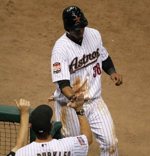Sept. 11: Astros 1, Cubs 0A run by Jimmy Paredes was all the Astros nee
