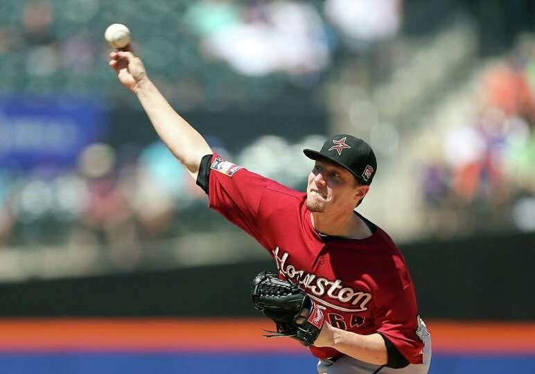 Aug. 26: Mets 2, Astros 1  Astros starter Lucas Harrell allowed just one run