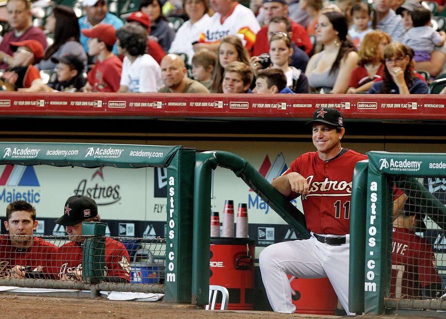 Aug. 19: Diamondbacks 8, Astros 1Astros interim manager Tony DeFrancesco had his first game at the helm, but the result looked pretty similar.Record: 39-83. (Cody Duty / Chronicle) Photo: Cody Duty, Houston Chronicle / © 2011 Houston Chronicle