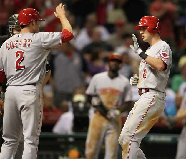 July 24: Reds 4, Astros 2 A ninth-inning rally by the Reds hands the Astros