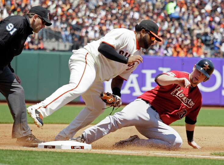 July 15: Giants 3, Astros 2 A month after he threw a perfect game against th