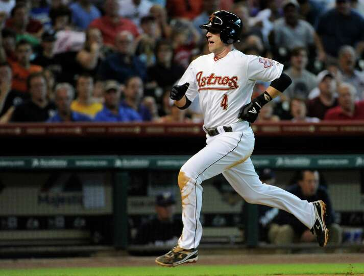 July 7: Astros 6, Brewers 3 Jed Lowrie races home to score from third on a J