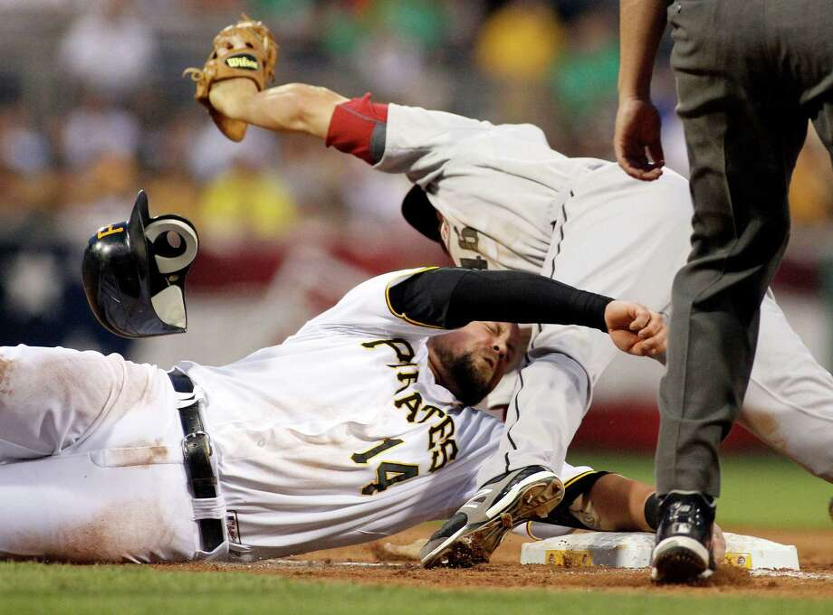 July 2: Pirates 11, Astros 2 The Astros took a tumble against the Pirates. Starter Jordan Lyles lasted just four innings and the Astros lost their fifth straight.Record: 32-48. Photo: Justin K. Aller, Getty Images / 2012 Getty Images