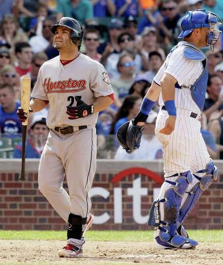 July 1: Cubs 3, Astros 0 Astros second baseman Jose Altuve, named the team's