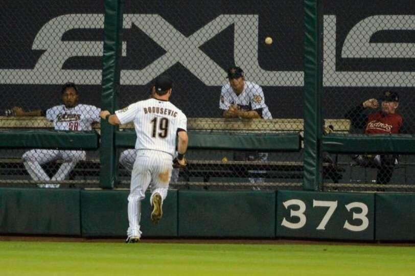 June 25: Padres 8, Astros 7 (10 innings) Astros right fielder Brian Bogusev
