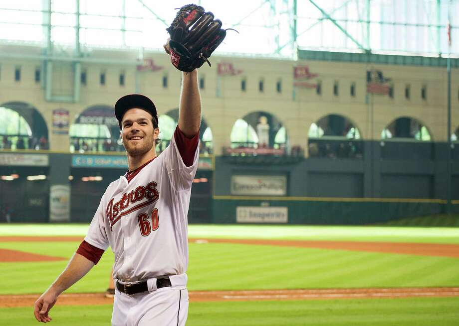 June 23: Astros 8, Indians 1 Rookie Dallas Kuechel pitches a gem for first big-league win.Record:: 29-42. Photo: Smiley N. Pool, Houston Chronicle / © 2012  Smiley N. Pool