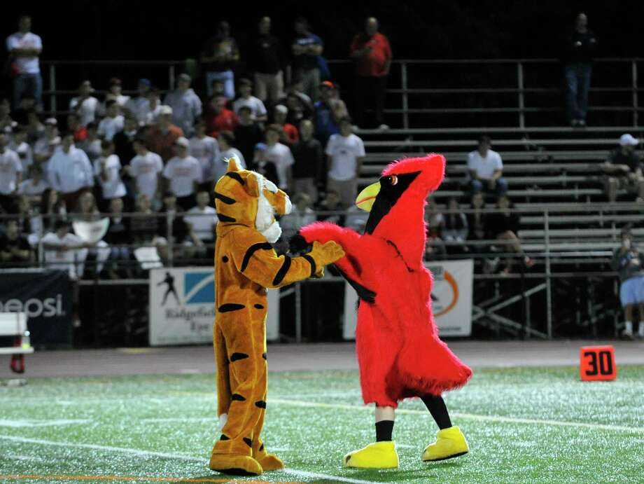 Scenes from the Greenwich at Ridgefield football game on Friday, Sept. 14, 2012. Photo: Jason Rearick / The News-Times