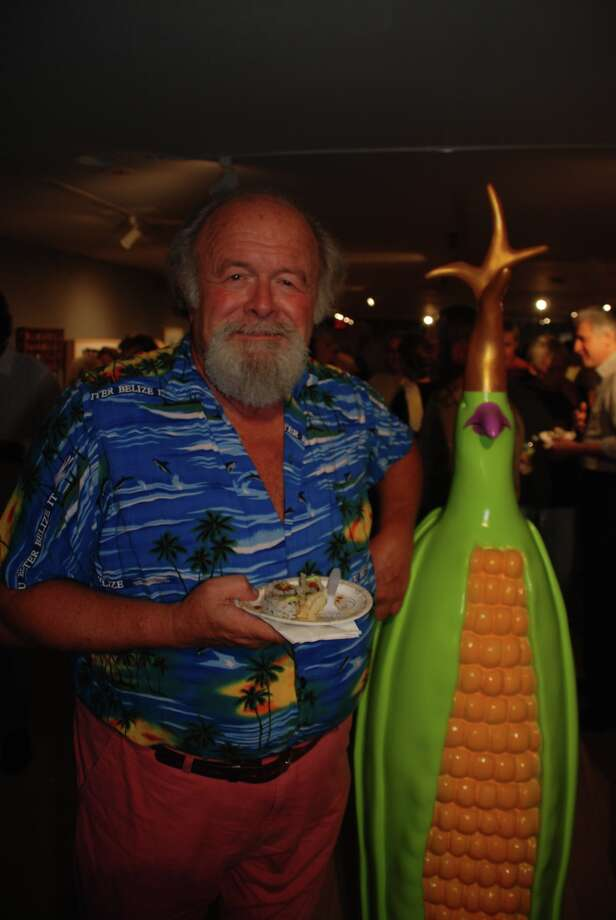 A color full and fun night for all. Foodies exhibition, Westport Arts center 9/14/12 Photo: Michael Spero / Hearst Connecticut Media Group