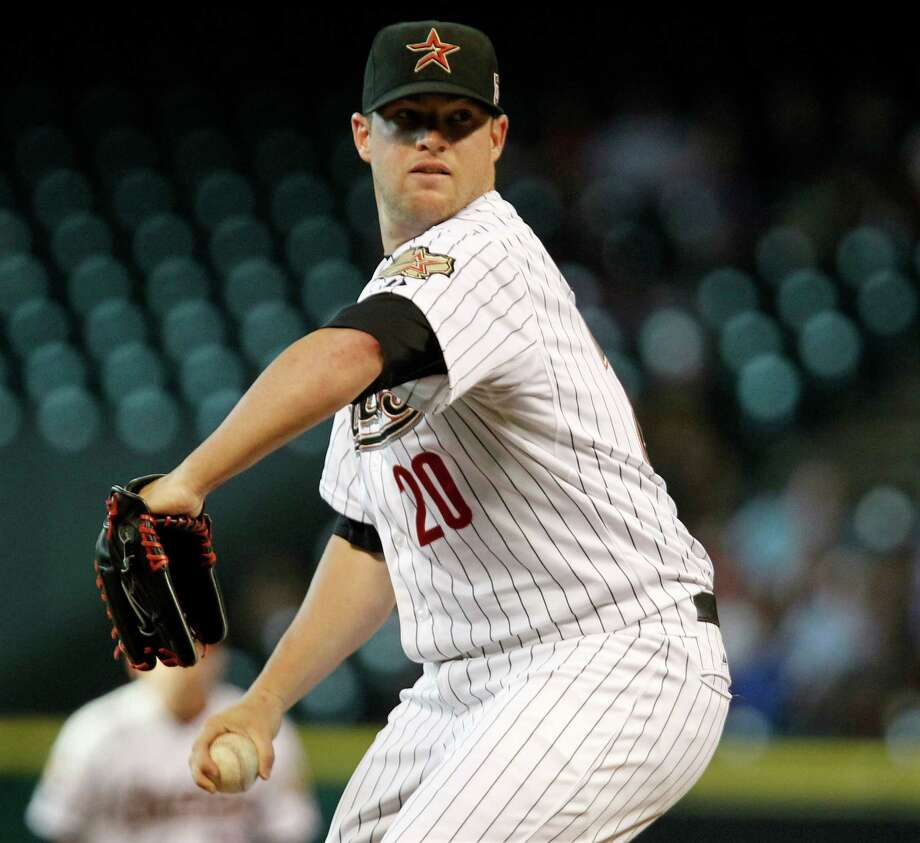 June 6: Cardinals 4, Astros 3 Astros starting pitcher Bud Norris struck out a season-high 12 batters over six innings, but he gave up four runs that led to the Astros' ninth loss in 11 games.Record: 24-32. Photo: James Nielsen, Chronicle / © Houston Chronicle 2012