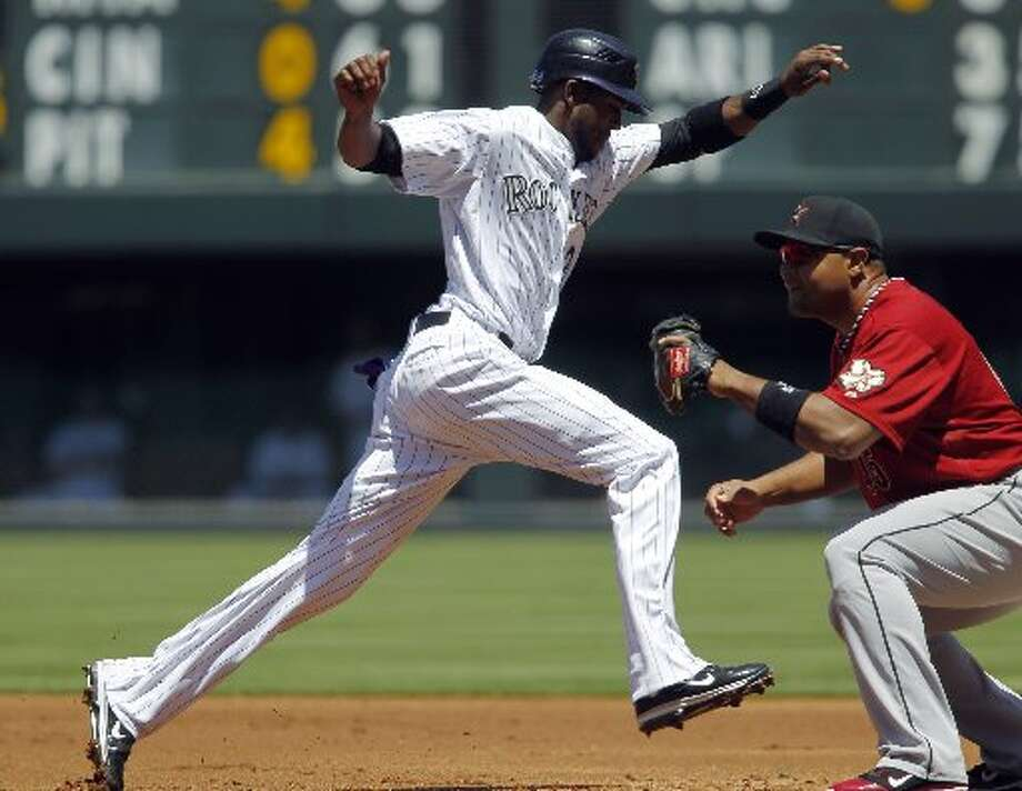 May 28 (Game 1): Rockies 9, Astros 7Carlos Lee and the Astros couldn't stop the Rockies on Memorial Day.Record: 22-26.