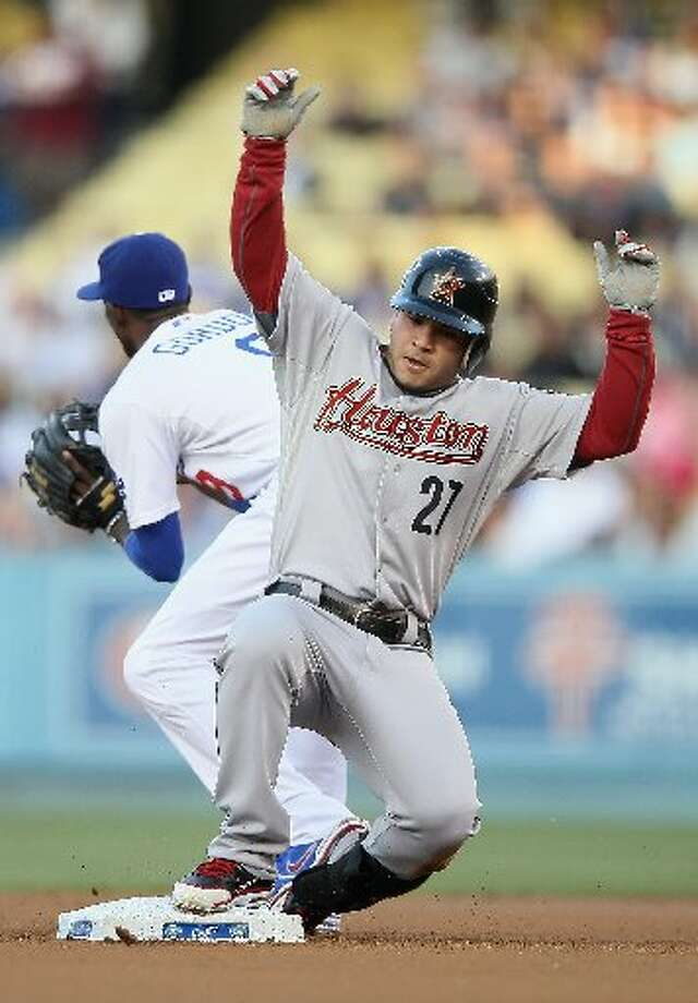 May 26: Dodgers 6, Astros 3  Jose Altuve and the Astros couldn't escape the Dogders late heroics. Record: 22-24. (Jeff Gross / Getty)