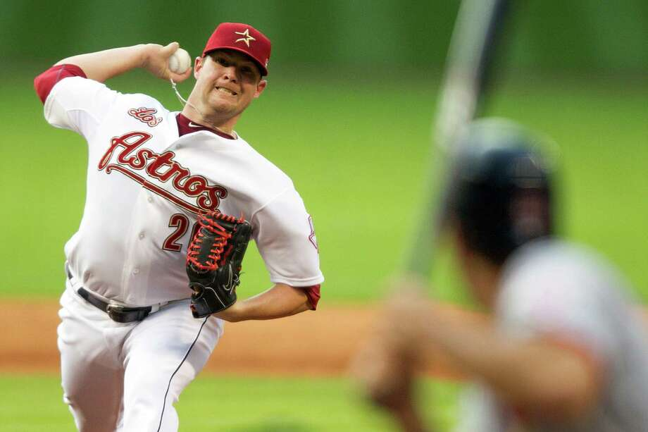 May 5: Astros 8, Cardinals 2 Astros starter Bud Norris held the Cardinals to one run (zero earned) in six innings to improve to 2-1.Record: 13-14. Photo: Smiley N. Pool, Houston Chronicle / © 2012  Smiley N. Pool