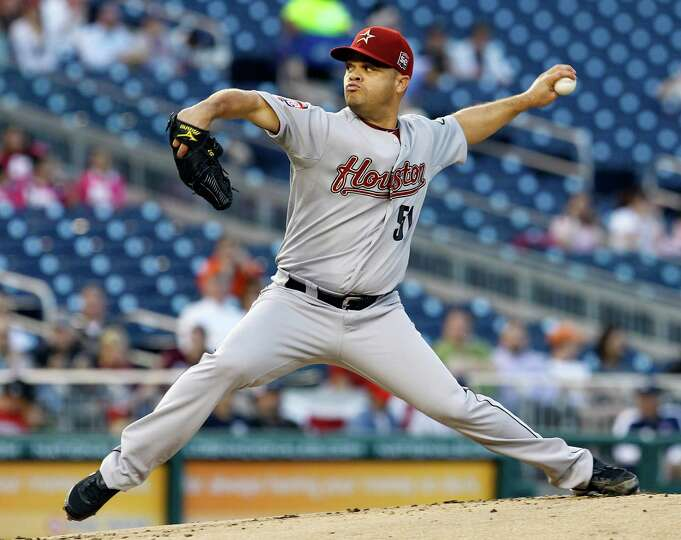 April 17: Nationals 1, Astros 0 Wandy Rodriguez was a hard-luck loser again,