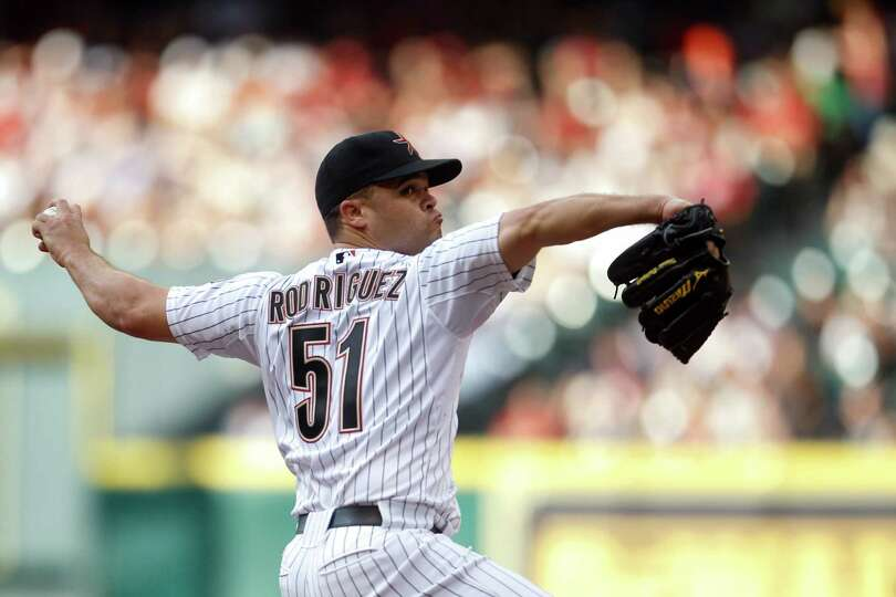 April 6: Rockies 5, Astros 3 Wandy Rodriguez was the Astros' Opening Day sta