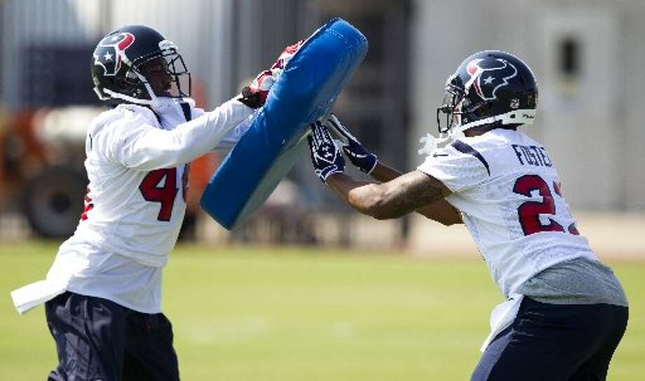 at CHI ,Week 10, Nov. 11, 7:20 p.m., NBCHou 20, Chi 17Record: 7-2Before a national television audience, Arian Foster and Ben Tate combine for 207 yards rushing and two touchdowns.  (Brett Coomer / Chronicle)