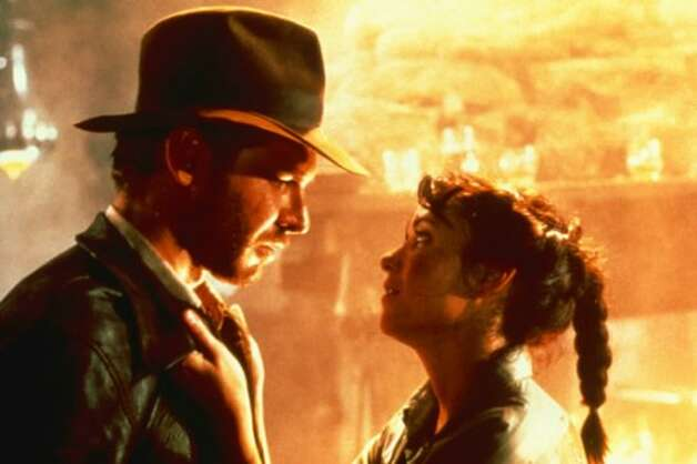 "Harrison Ford as Indiana Jones and Karen Allen as Marion Ravenwood in ""Raiders of the Lost Ark."" (Lucasfilm/Paramount)"