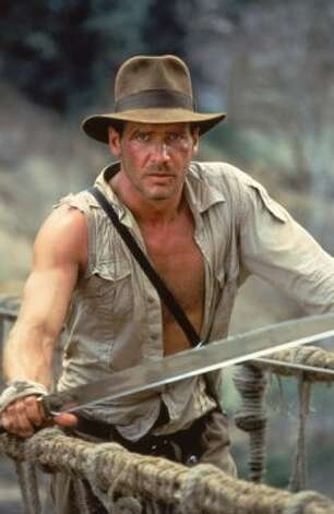 "Harrison Ford as Indiana Jones in ""Indiana Jones and the Temple of Doom."" (Lucasfilm/Paramount)"