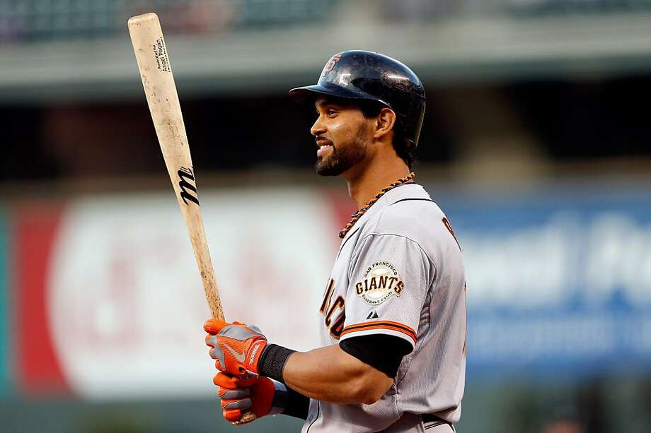 Angel Pagan: His triples mark isn't franchise's. Photo: Doug Pensinger, Getty Images