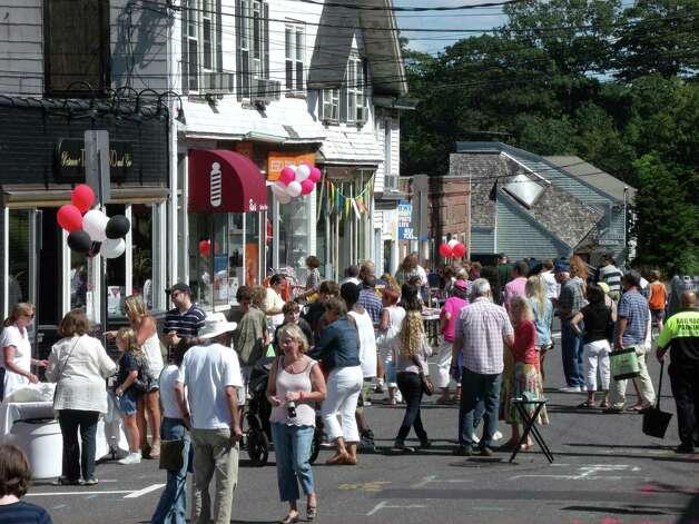Were you seen Saturday at the Slice of Saugatuck Festival in Westport? 9/15/2012 Photo: Todd Tracy / Connecticut Post