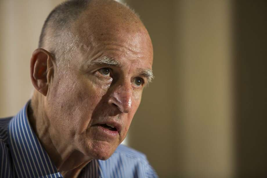 Gov. Jerry Brown says his tax plan will be the last time he pitches such a plan to the voters. Photo: Ken James, SFC