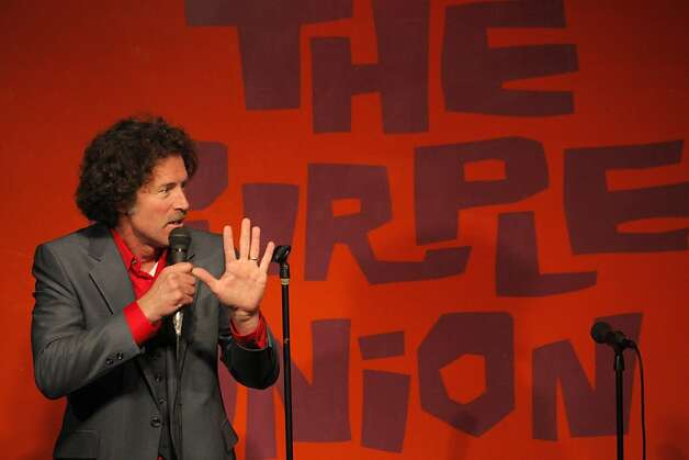 Comedian Mike Meehan performs at the Purple Onion Comedy Club, which is closing after a Sept. 24 show. Photo: Carlos Avila Gonzalez, The Chronicle