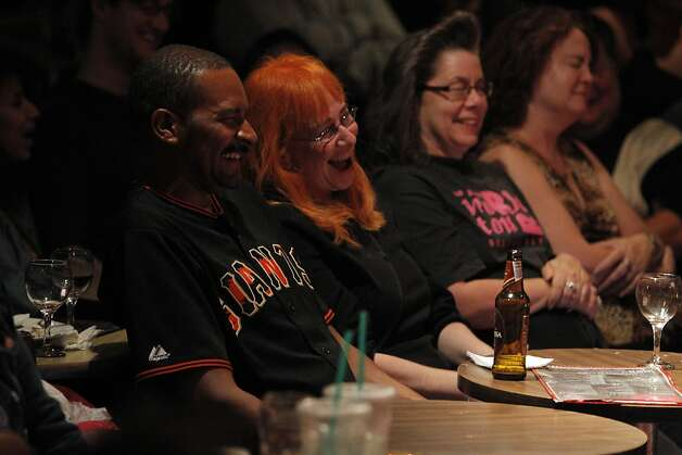 Patrons enjoy the show at the Purple Onion Comedy Club in San Francisco, Calif., on Thursday, September The Purple Onion comedy club is closing at the end of Sept. Just short of its 50th anniversary. The club launched Phillis Diller and is also where the Kingston Trio got its start and the Smothers Brothers recorded their first album. Photo: Carlos Avila Gonzalez, The Chronicle