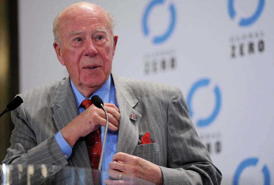 – George Shultz: The former Bechtel executive and President Reagan's long-serving Secretary of State used a Wall Street Journal piece to argue:  We need at least to consider and examine forms of controlled legalization of drugs.  The establishment mandarin raised eyebrows, speaking at a luncheon before a Stanford-Notre Dame football game, when he called for legalization of marijuana. Photo: Pascal Le Segretain, Getty Images / 2010 Getty Images