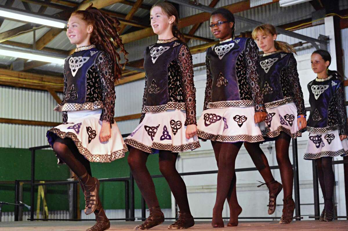 The Iona Dance Troupe from Schoharie County perform at the 16th Annual Irish 2000 Music & Arts Festival at Saratoga County Fairgrounds in Ballston Spa Saturday Sept. 15, 2012. (John Carl D'Annibale / Times Union)