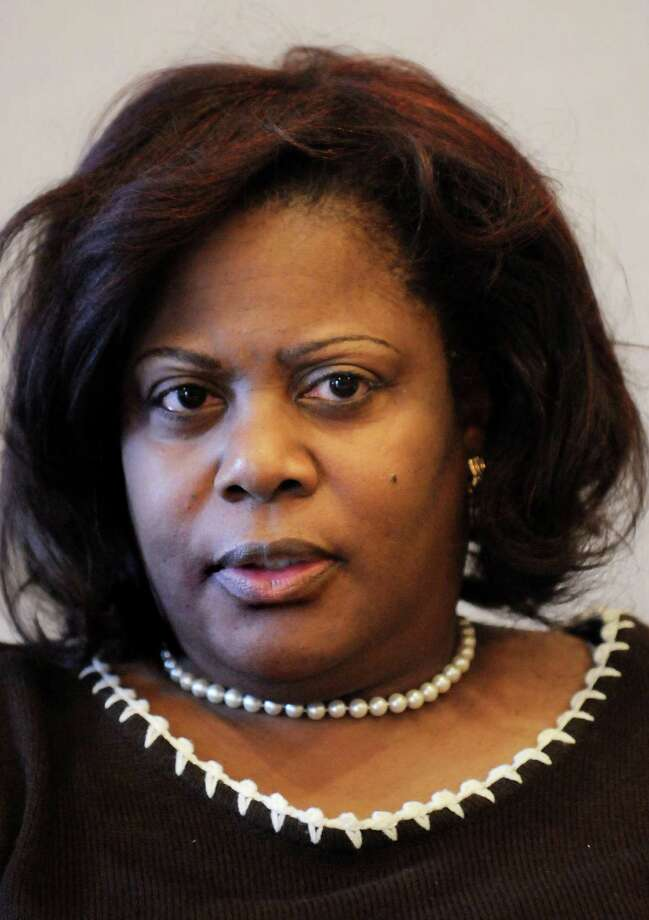 Andrea Evans, chairwoman and CEO of the Division of Parole, on Tues., March 3, 2010, at the Times Union in Colonie, N.Y. (Cindy Schultz / Times Union) Photo: CINDY SCHULTZ / 00007713A