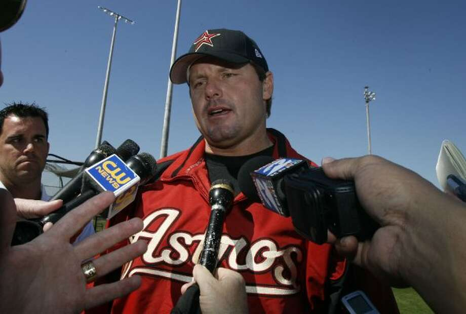 15. Roger Clemens, RHP (2004-2006)38-18 with a 2.40 ERA in 539 IP, with 505 Ks, an ERA+ of 180 and 15.4 Wins Above Replacement. In only three seasons with Astros, won a Cy Young (2004), led the league in ERA once (2005) and helped team reach World Series. (Billy Smith II / Houston Chronicle)