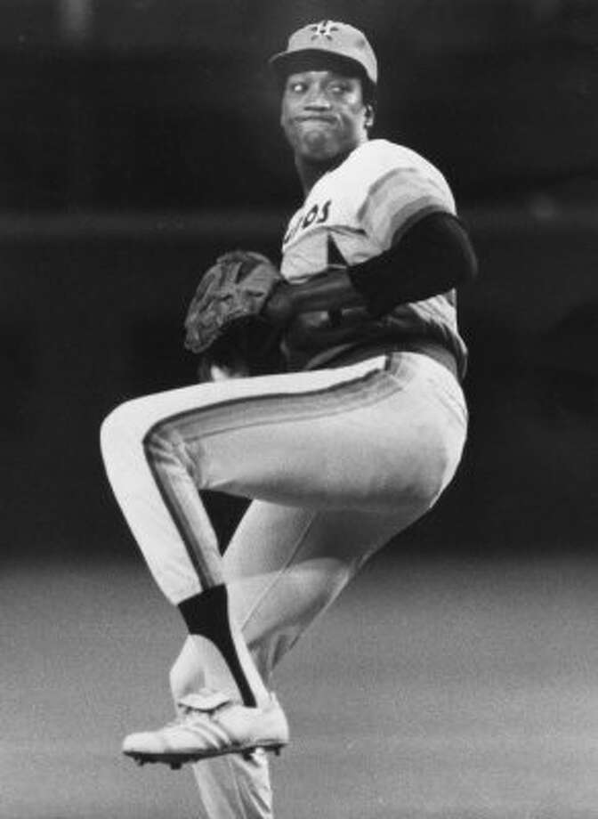 13. J.R. Richard, RHP (1971-1980)107-71 with a 3.15 ER in 1,606 IP, with 1,493 Ks, an ERA+ of 108 and 22.4 Wins Above Replacement. In his case, unlucky 13 is fitting: Finished among top five in Cy Young voting in three of his final five seasons, going 84-55 with 2.79 ERA before stroke ended his career. (Mike Robinson / Houston Chronicle)