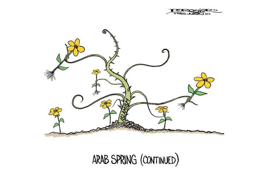 Arab Spring, interrupted. Photo: John De Rosier