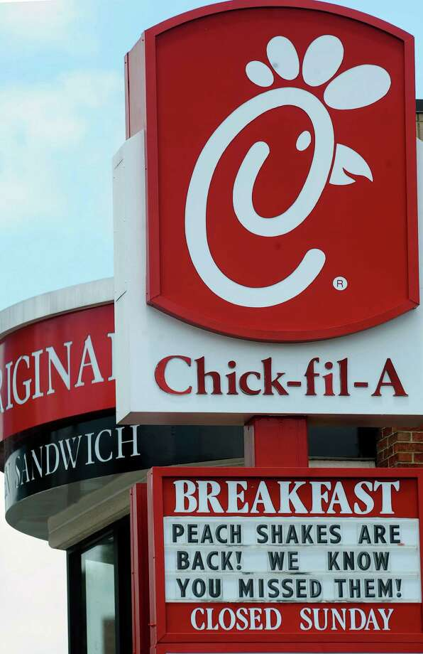 Chick-fil-A Large Strawberry Milkshake, 750 calories. Photo: Mike Stewart, Associated Press / AP