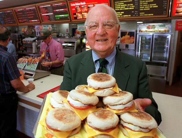 McDonald's Egg McMuffin, 300 calories. Photo: John Hayes, Associated Press / AP