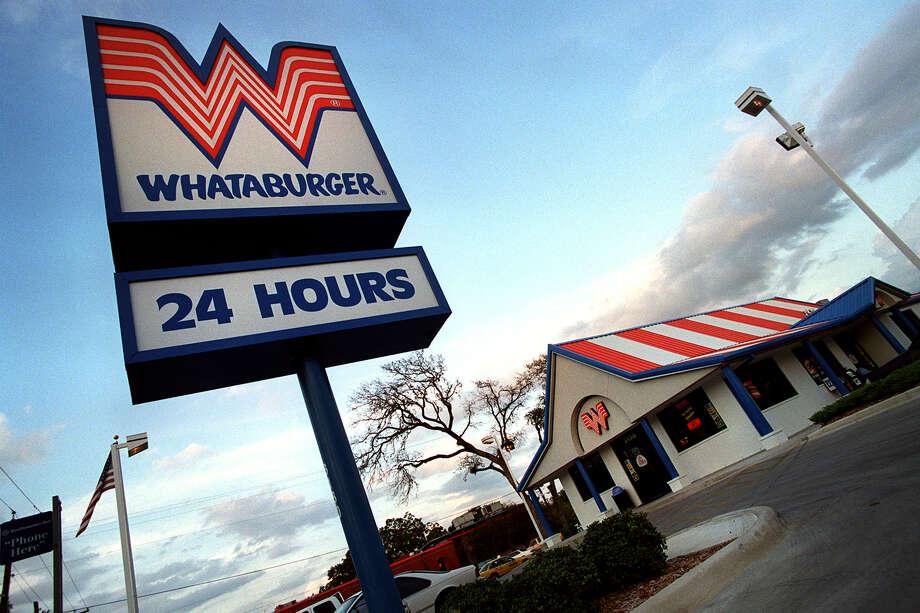 Whataburger Chop House Cheddar Burger, 1,150 calories. Photo: San Antonio Express-News File Photo / SAN ANTONIO EXPRESS-NEWS