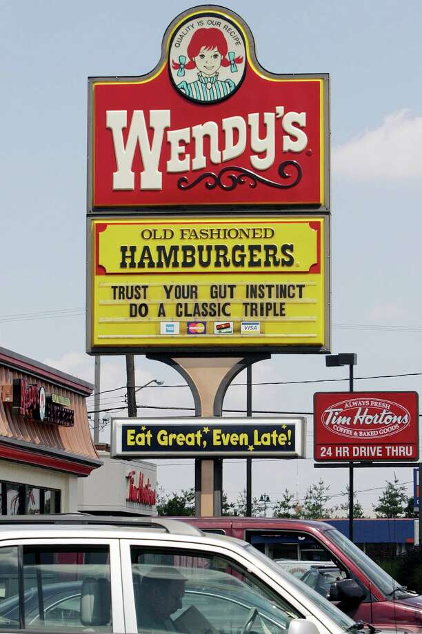 Wendy's is the best that Ohio has to offer. Photo: Terry Gilliam, Associated Press / AP