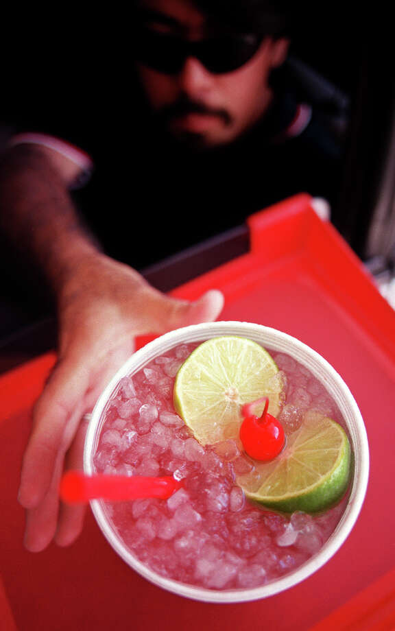 Sonic Large Cherry Limeade, 340 calories. (A Small is 170, a Medium is 230 and a Route 44 is 460.) Photo: San Antonio Express-News File Photo / SAN ANTONIO EXPRESS-NEWS