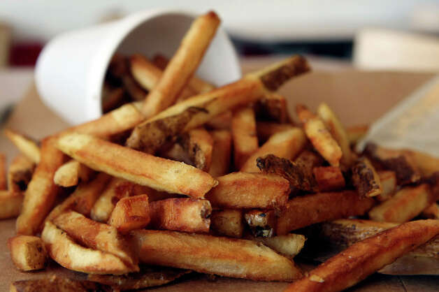 Five Guys Burgers and Fries Regular Fries, 620 calories. Photo: Helen L. Montoya, San Antonio Express-News / hmontoya@express-news.net